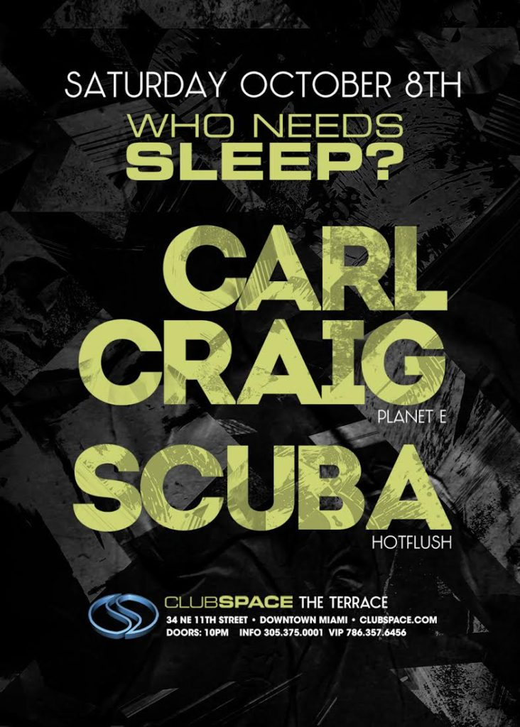 Club Space Poster