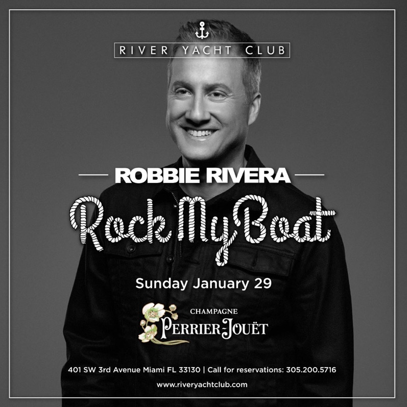 Robbie Rivera at River Yacht Club