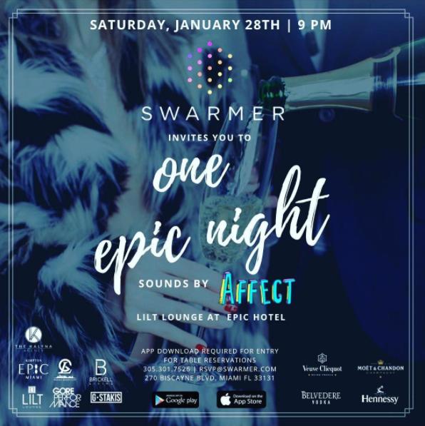 Swarmer One Epic Night