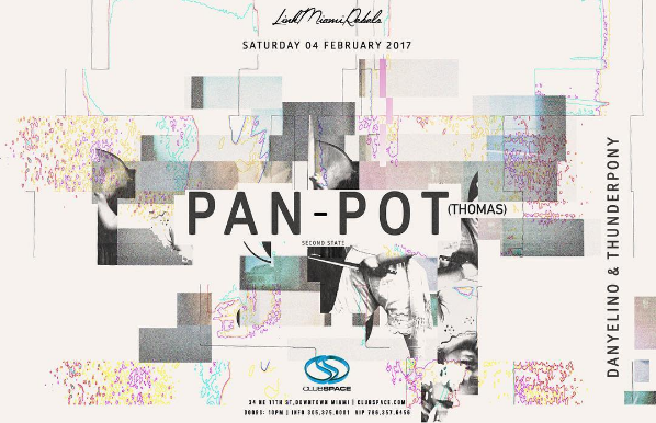Pan-Pot at Space Miami