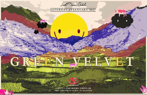 Green Velvet at Space