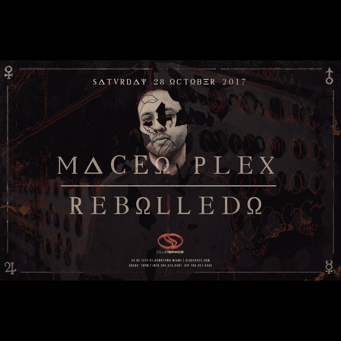 Maceo Plex for Halloween at Space