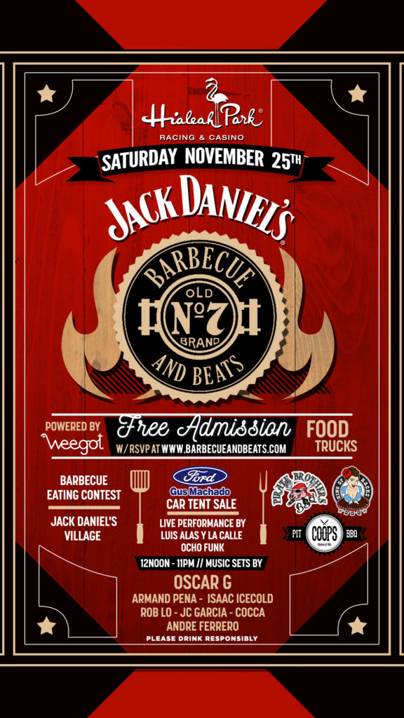 Jack Daniel's Barbecue and Beats