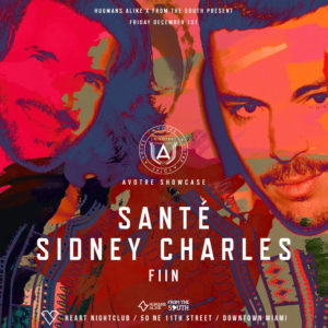Sidney Charles and Sante in Miami