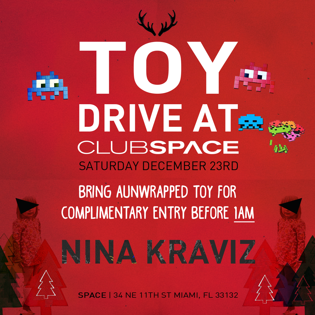 Annual Toy Drive at Space Miami
