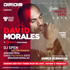 David Morales at Garden Wynwood