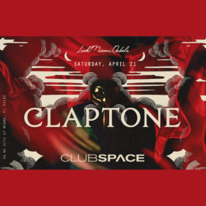 DJ Claptone at Space Miami