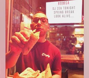 DJ Zea at Bodega Miami Beach