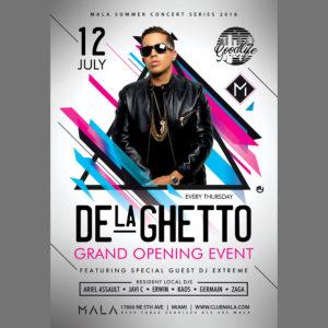 Club-Mala-Grand-Opening-De-la-Ghetto-Good-life-flyer-by-@CaviarPixels