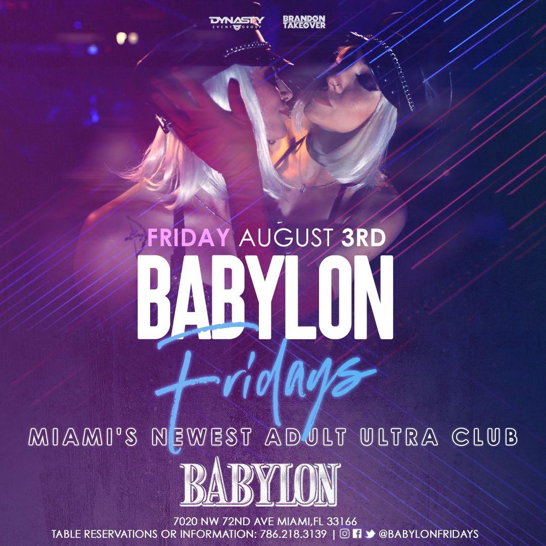 BABYLON FRIDAY