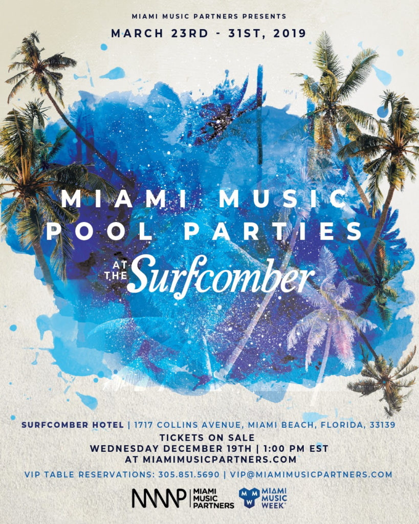MIAMI MUSIC POOL PARTIES