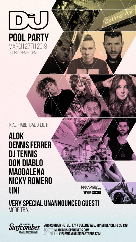 DJ Mag Pool Party 2019