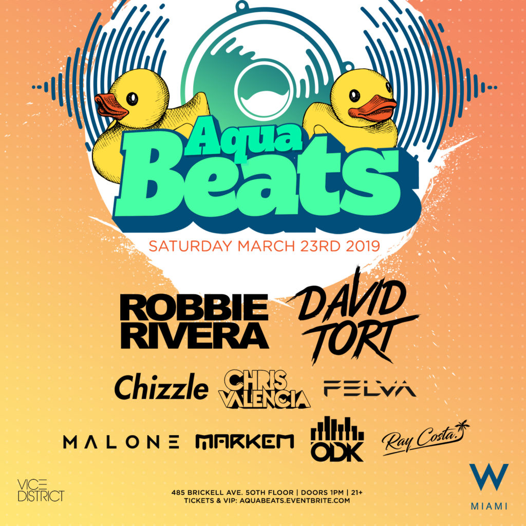 Aquabeats Pool Party in W Miami