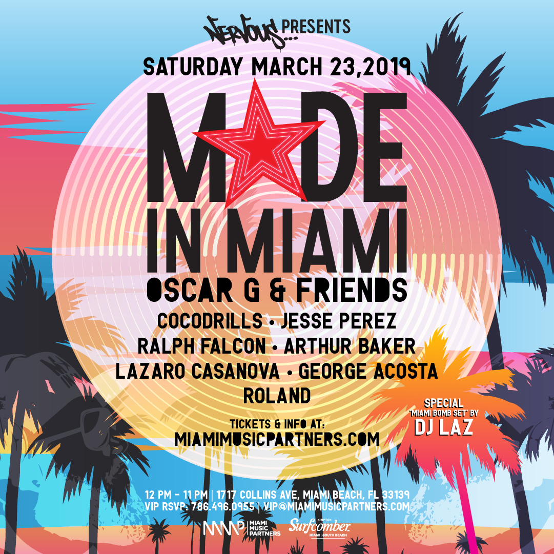Made in Miami Oscar G and Friends