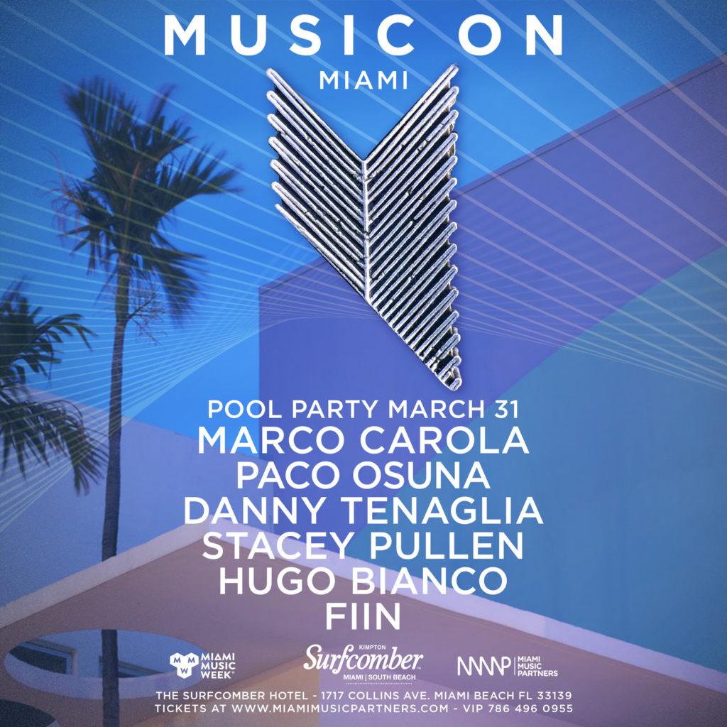 Music On Miami Marco Carola