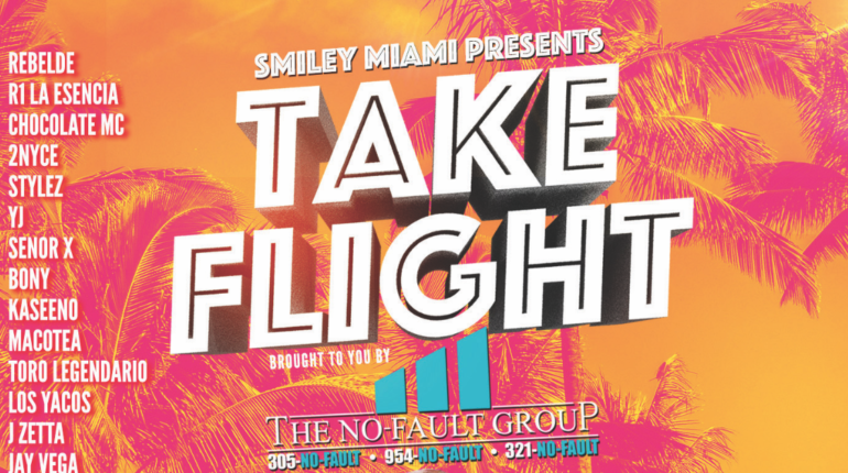 Take Flight Calle Ocho 2019 with Smiley Miami and the No Fault Group