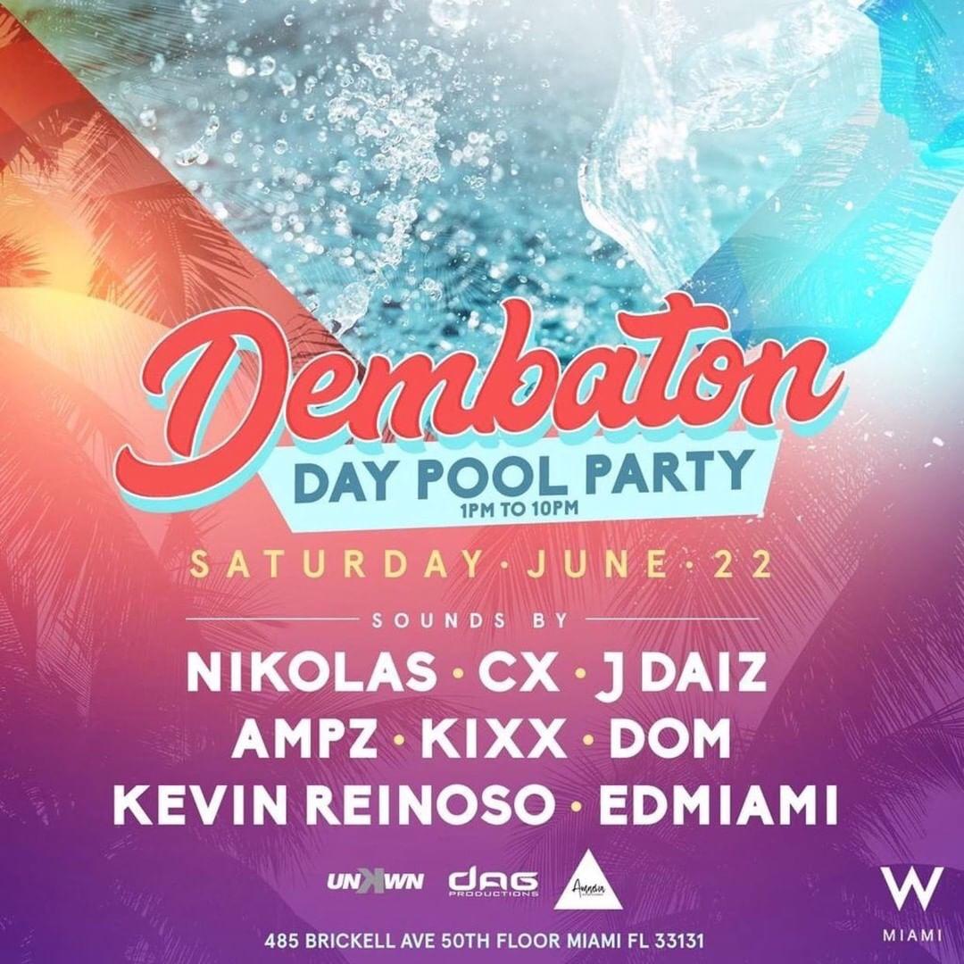 Dembaton Day Pool Party