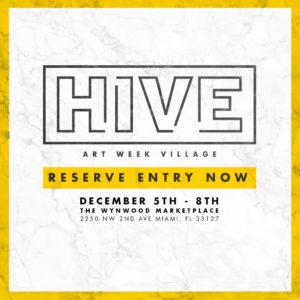 HIVE Art Week Village