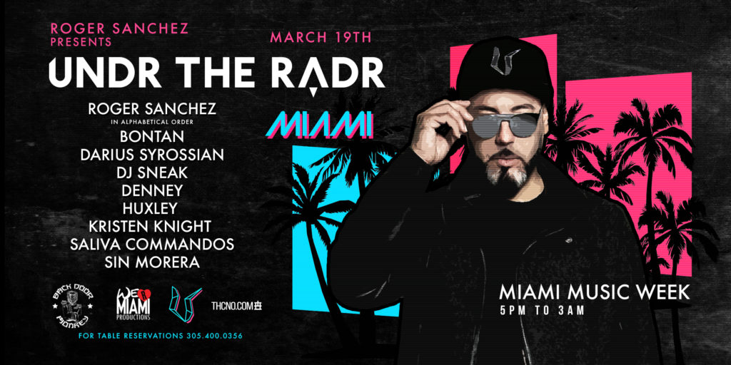 Roger Sanchez in Wynwood