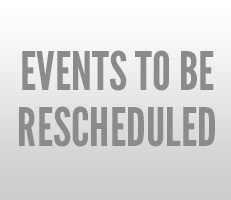 Events to be re-scheduled due to covid-19