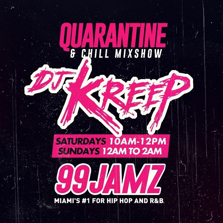 99 Jamz presents Quarantine and Chill Mix show