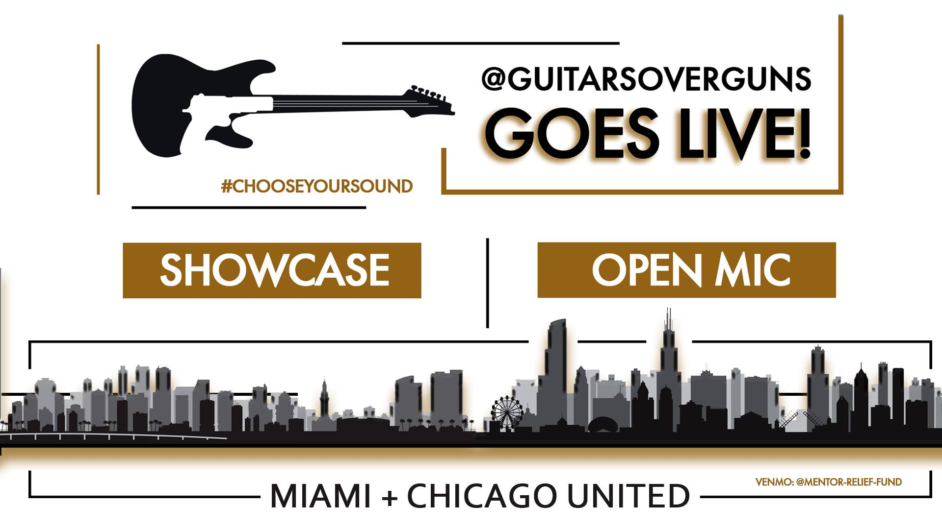 Guitars over Guns Goes Live