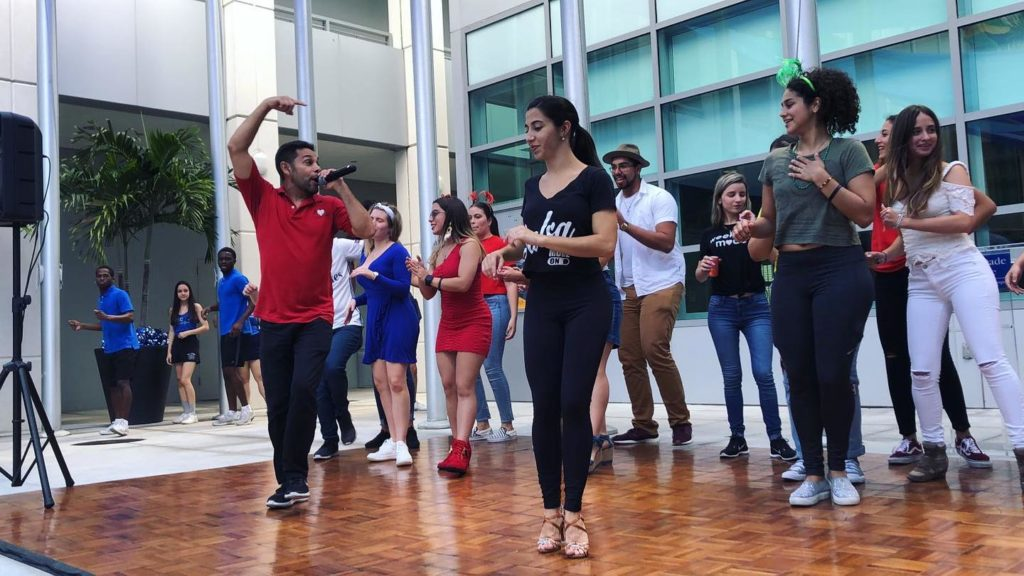 Learn how to dance salsa online