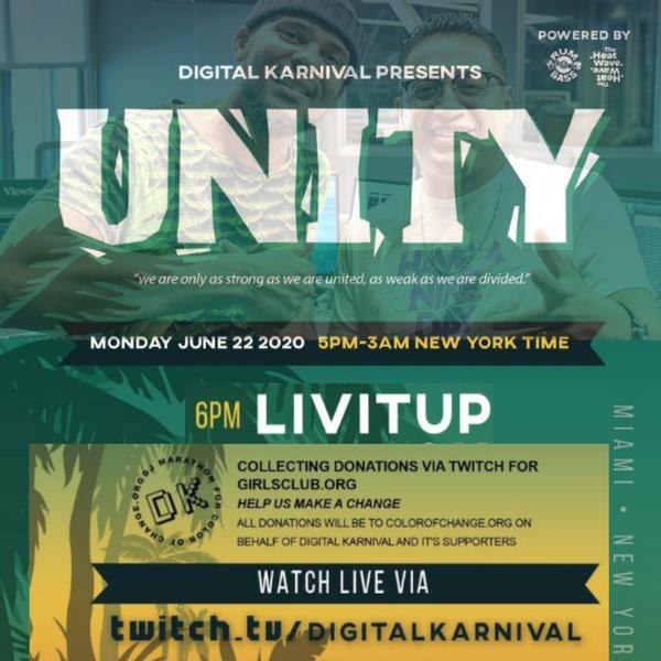 Digital Karnival presents UNITY Live
