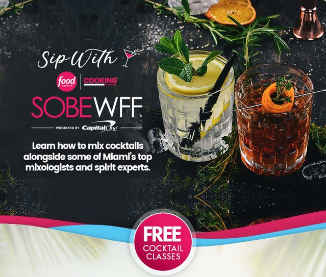 Learn how to mix it up SOBE Style
